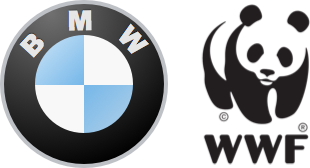 Recent customer logos - BMW M and WWF